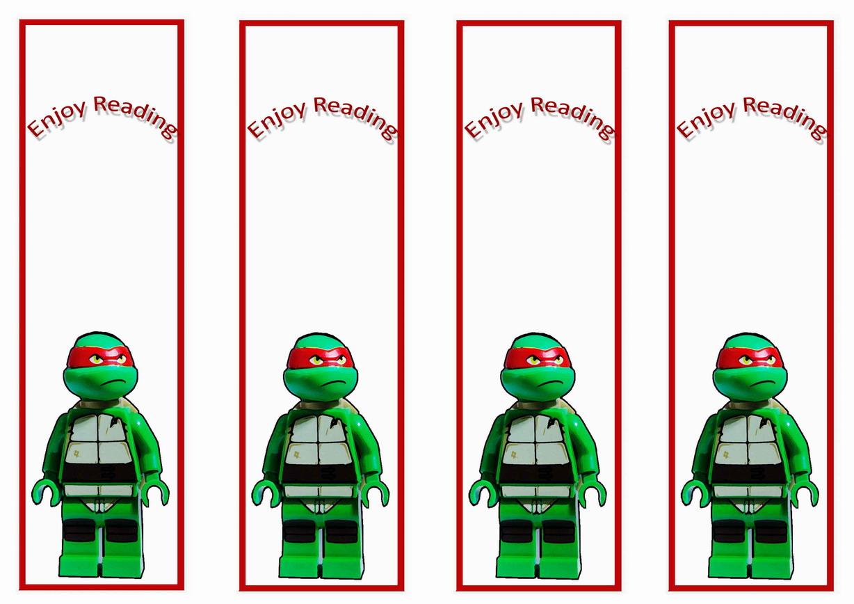Teenage Mutant Ninja Turtles Bookmarks