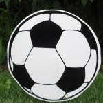 Soccer Ball Lawn Ornament