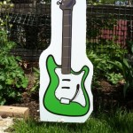 Guitar lawn Ornaments