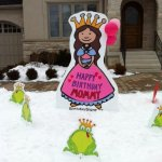 Princess Lawn Signs for Mommy