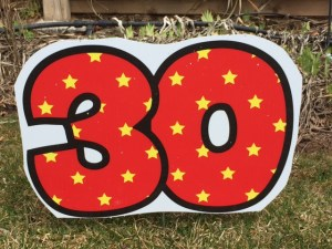30th numbers