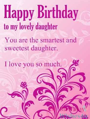 Best Happy Birthday Wishes For Daughter In Hindi