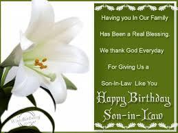 50 Happy Birthday Wishes For Son In Law Birthday Wishes Zone