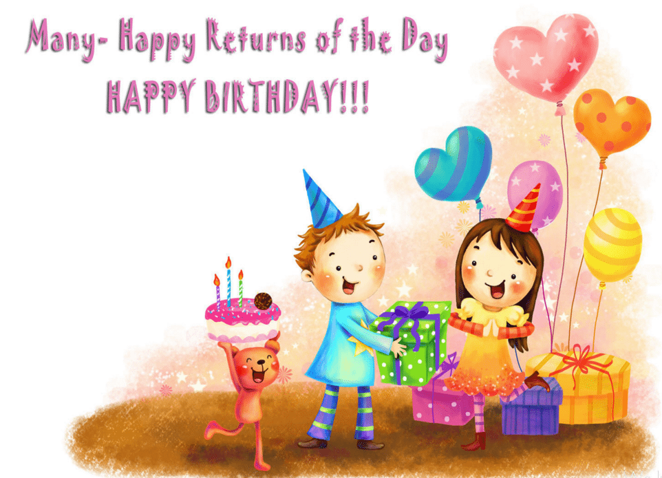 50 Amazing Birthday Wishes For Kids Birthday Wishes Zone