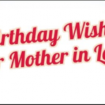 Updated 50 Birthday Wishes For Mother-In-Law 2016
