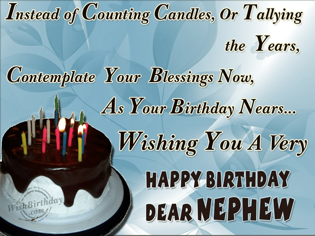 50+ Happy Birthday Wishes For Nephew
