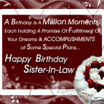 40+ Birthday Wishes For Sister In Law 2016