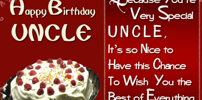 50 Birthday Wishes For Uncle