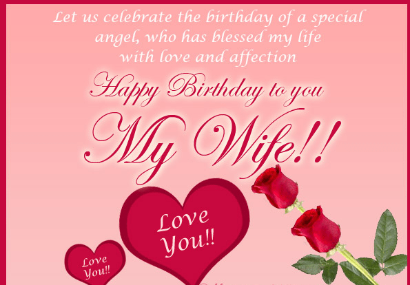50 Birthday Wishes For Wife