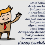 Best Birthday Wishes For Boss 2016