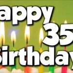 Best 35th Birthday Wishes | Happy 35th Birthday Wishes and Greetings