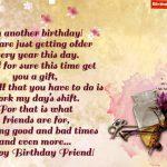 Birthday Poem For Friend