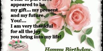 Birthday Poem For Lve