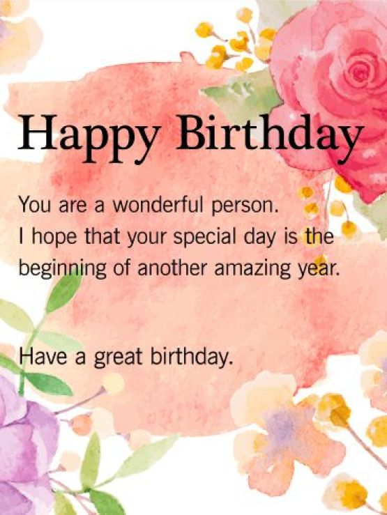 Best Happy Birthday Quotes For Someone Special – Special Birthday Cards for Someone Special