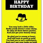 Birthday Poem For A Young Daughter