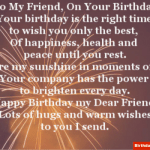 Poem For Best Friend