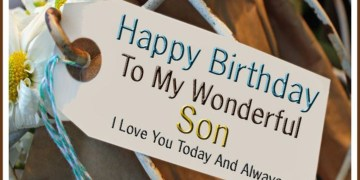 Son Happy Birthday Wishes