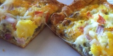 Jimmy Dean Sausage Breakfast Pizza
