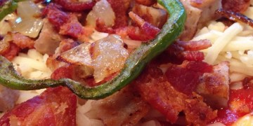 Low Carb Deep Dish Breakfast Pizza