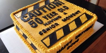 50th birthday cakes ideas
