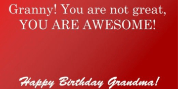 Grandma Birthday Messages
