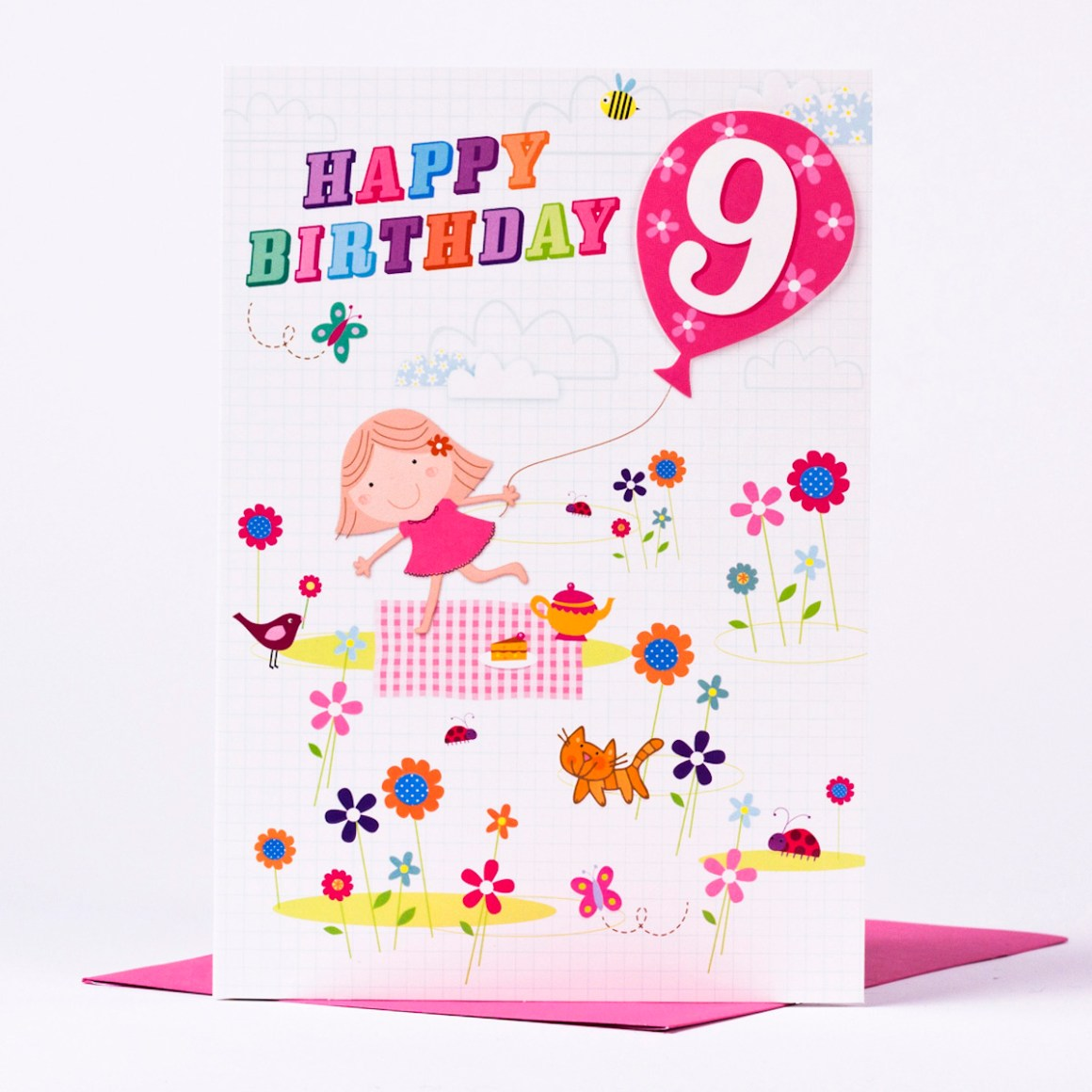 Daughter S 9th Birthday Quotes: Birthday Wishes & Cards For 9 Years Old