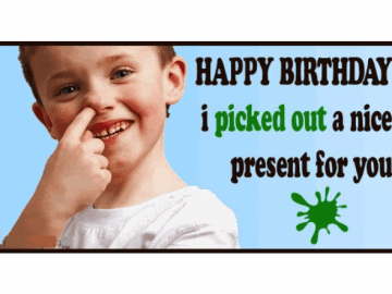 Funny Birthday Messages and Wishes