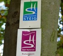 Baybachklamm Traumschleife, Wanderung Schild 1.11.15, B+M 2015-11-01 004