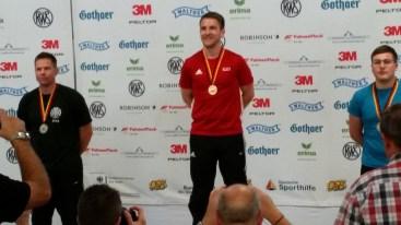 Deutsche Meisterschaft KK Siegerehrung 2016