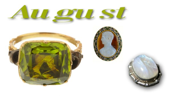 What are the August Birthstones?