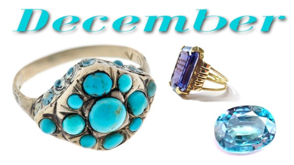 What are the December Birthstones?