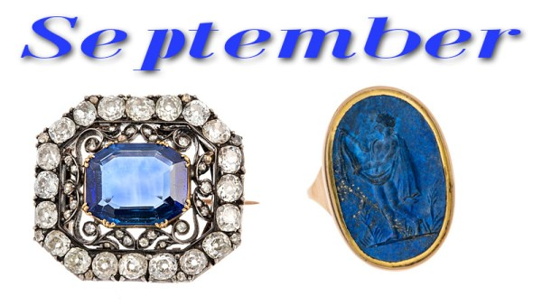 What are the September Birthstones?