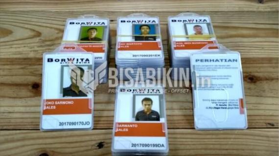 Pabrik ID Card Satuan di Tangerang