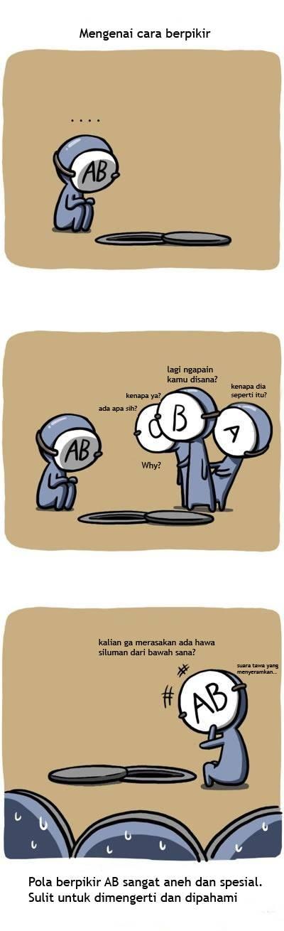 komik golongan darah 6
