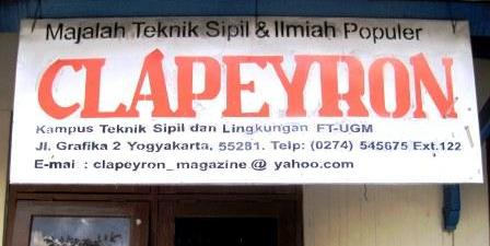 Jual Majalah Digital Clapeyron UGM