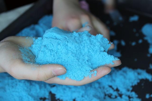 Cara Membuat Pasir Kinetik Dengan Mudah