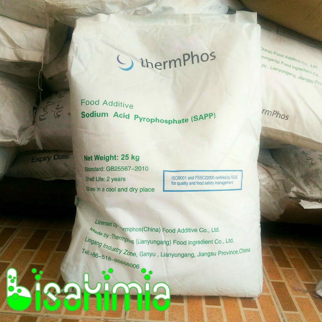 Jual SAPP (Sodium Acid Pyrophospate) Food Grade