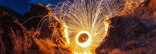 Cara Kerja Kembang Api dan Suar