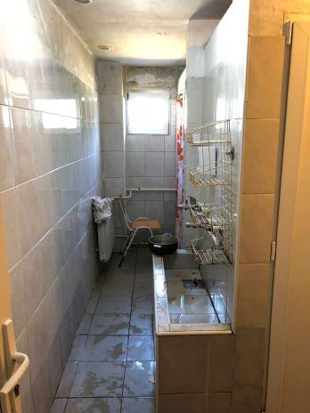 Der Spül- und Waschraum der Unterkunft