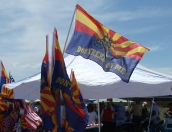 Arizona Tea Party Flag