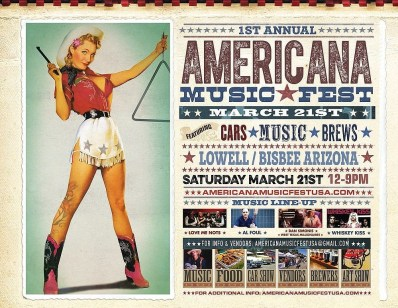 Americana Fest Lowell Arizona