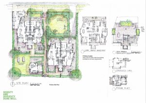 Density and Diversity Done Well Competition Entry by Biscoe Wilson Architects
