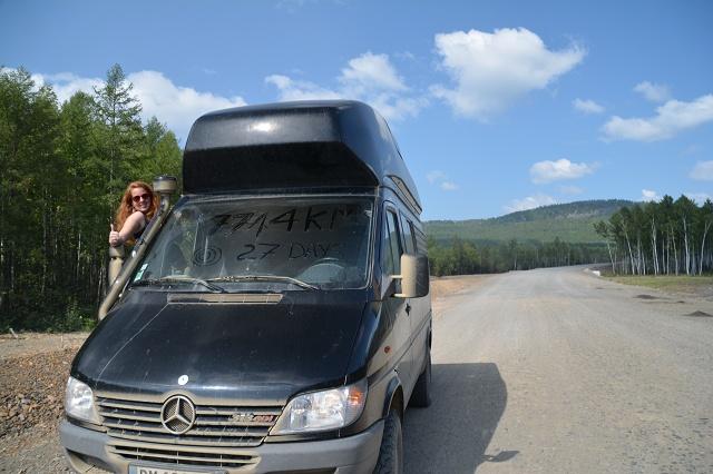 7714 km dirt roads...finished!