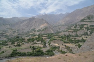 View on Afghanistan/Vue sur l'Afghanistan