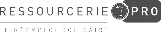 Logo de la Resourcerie.Pro : le service de la Ressourcerie des Biscottes dédiés aux entreprises, collectivités, associations... qui souhaitent s'équiper en mobilier professionnel !