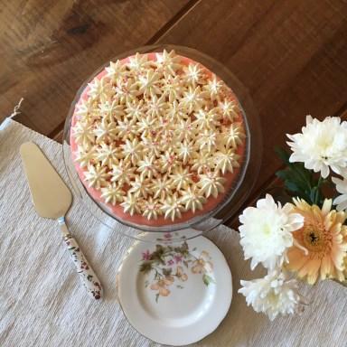 Finished cheesecake