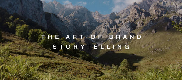the art of brand storytelling header image