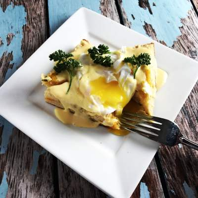 Super Simple Tennessee Cherry Chili Hollandaise