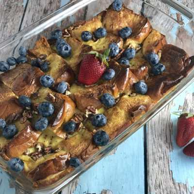 Berry Brioche Baked French Toast