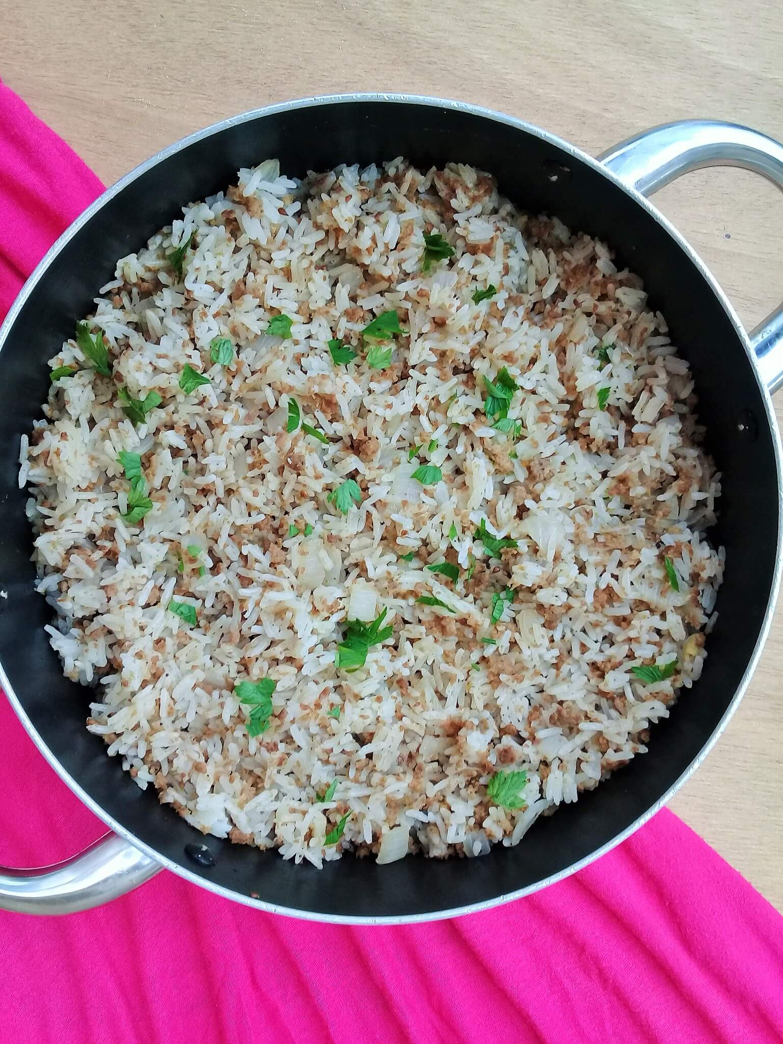 Ground beef and rice one pot one pot ground beef and rice easy and tasty ccuart Choice Image